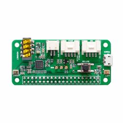 Respeaker Intelligent Voice Dual Microphone Expansion Board Pi HAT V1.8 for Raspberry Pi ZERO/3B/2B FZ3295