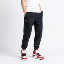 Japanese Style Fashion Men Jeans Vintage Black Large Size S-5XL Classical Denim Cargo Pants Hip Hop Jogger Harem