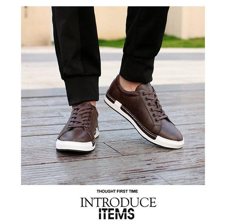 HTB1qaCqaovrK1RjSspcq6zzSXXar Gentlemans Luxury Leather Shoes Men Sneakers Men Trainers Lace-up Flat Driving Shoes Zapatillas Hombre Casual