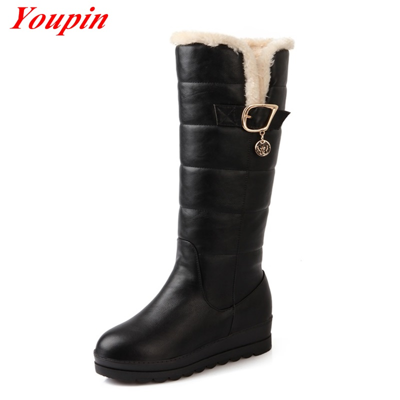women s winter snow boots 2015 new arrive keep warm snow boots fashion thick fur platform