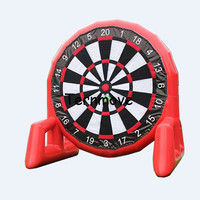 giant inflatable soccer dart for adults inflatable kids throwing darts games,inflatable foot soccer dart board