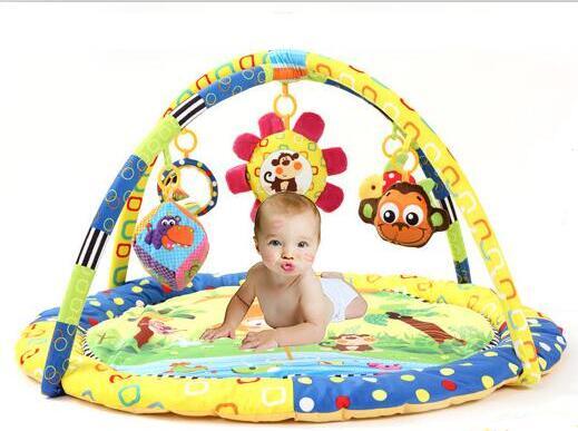 Bébé Activité Tapis De Jeu Gym Éducatifs jeu de Cadre de Fitness Jouets tapis de Singe - 2