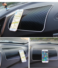 1PCS 28*17CM PVC Anti-Slip Mat Car Interior Dashboard Sticky Pad For Mobile Phone GPS MP4 Key Sundries Glasses Automobile