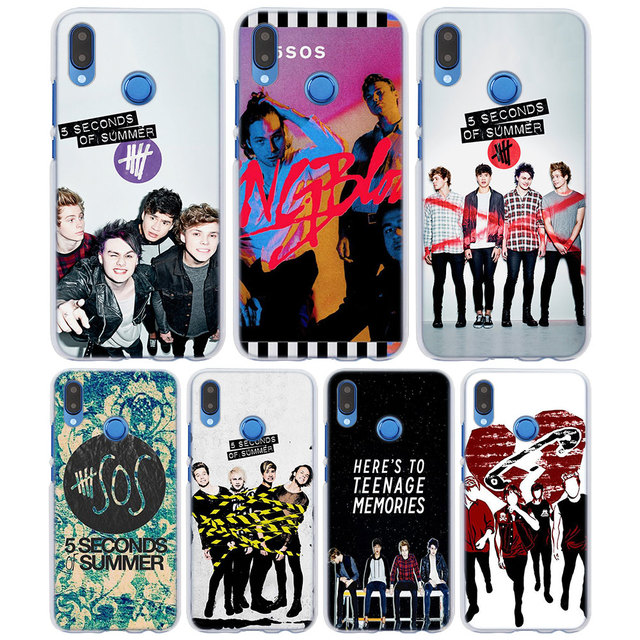 For huawei p10 lite 5 seconds of summer 5sos style clear frame back for huawei p10 lite 5 seconds of summer 5sos style clear frame back cover case for m4hsunfo