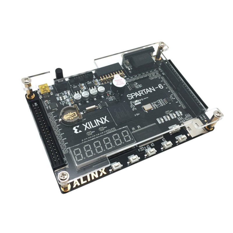 Xilinx Spartan 6 FPGA Development Board Kit includes FPGA spartan 6 development board AD/DA module and 4.3 inch TFT LCD XL011