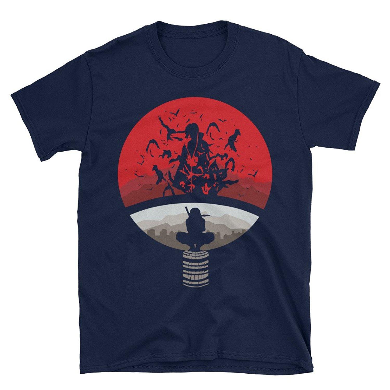2019 New Summer High Quality Tee Shirt Naruto Shippuden