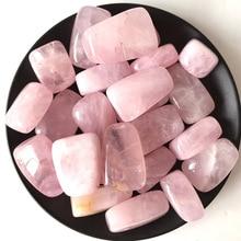 Натуральный розовый кварц розовый кристалл рок чип целительная Рейки Чакра гравий каменные минералы образец здоровья украшения коллекция