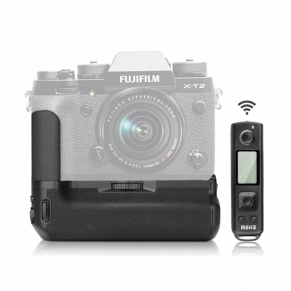MEKE Meike MK-XT2 Pro Multi-Puissance Batterie Grip Pack Avec Sans Fil Télécommande Pour Fujifilm X-T2