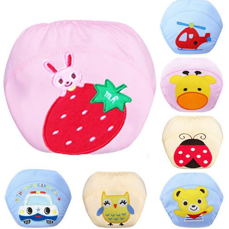 Cloth Diapers Nappy Training-Pants Reusable Soft-Covers Infant Baby Winter 1pcs for Summer