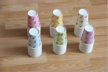 Floral Design Cups