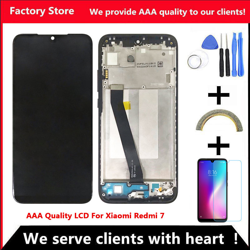 LCD Frame-Display-Screen Redmi7 Xiaomi for 7-Lcd with 10-Touch