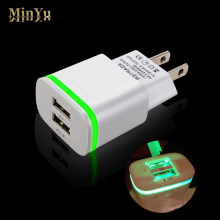 EU/US Plug Dual USB Wall Charger Adapter for Chuwi Vi10 Dual Boot, VL8, Hi8 Hi10 Vi8 Vi7, Vi10 Pro, V17HD, VX8 Travel Charger(China)