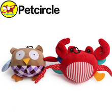 2015 Petcircle Hot Sale Pet Dog Toys Cute Little Animal Sounding Toy For Dogs Soft Durable Plush Squeak Dog Toy Free Shipping