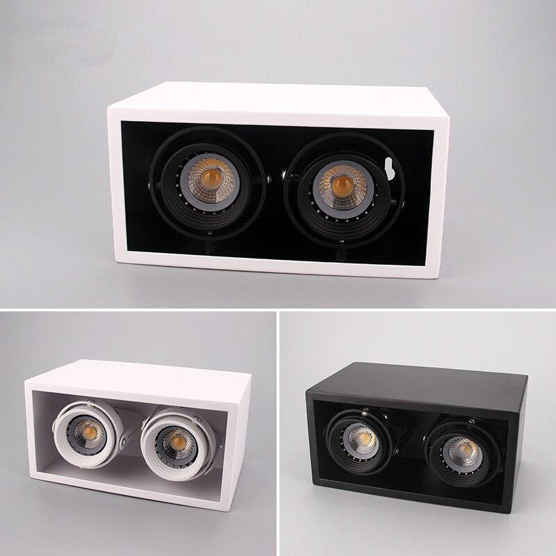 L'ÉPI carré LED Downlights 20 W 24 W Surface Monté LED Plafonniers Spot LED Downlights AC 85 V-265 V