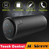 Zélot S8 3D stéréo Bluetooth haut-parleur sans fil Subwoofer colonne Portable contrôle tactile AUX TF carte lecture mains libres avec micro