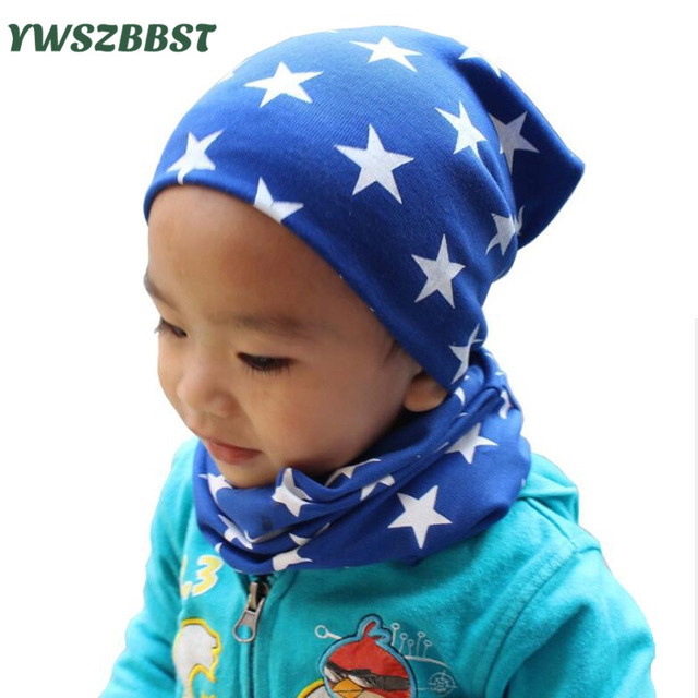 4ead5e462 US $2.84 5% OFF|Lovely Stars Spring Autumn Kids Girl Hat Cotton Winter Warm  Baby Hat Toddler Infant Hat Cute Baby Beanies Boy Caps for 0 3 years-in ...