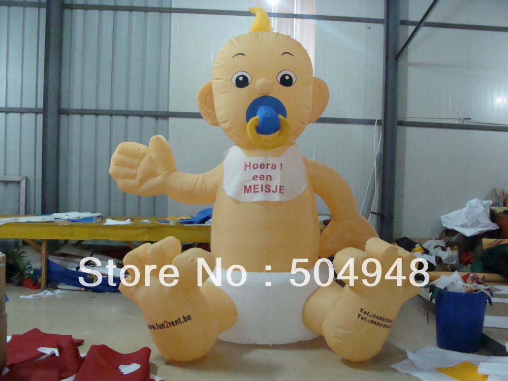 Inflatable Baby For Advertising inflatable cartoon customized advertising giant christmas inflatable santa claus for christmas outdoor decoration