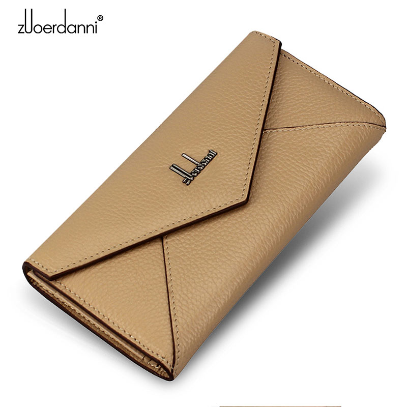 Famous Brand Women Wallets Luxury Genuine Leather women Wallet High Quality Purse Gift for Female Long Wallet Clutch Purse A172 enopella women wallet brand long wallet women dollar price leather purse high quality wallets brands purse female bag
