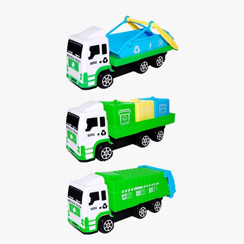 Random Color Baby Toys Funny Mini Sanitation Car Toys Truck Model Toys Early Education Toy Room Decoration Wholesale JY12#F (6)