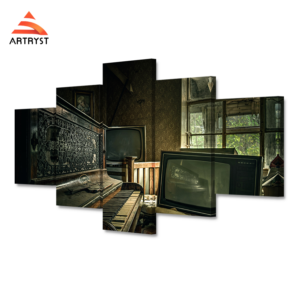 online buy wholesale piano posters from china piano posters modern home decor 5 canvas art poster piano music room picture hd print on the canvas
