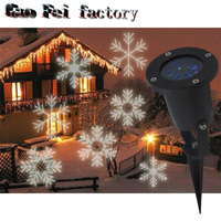 WayWay Laser Projector Lamps LED Stage Light Heart Snowflake Christmas Party Landscape Light Garden Lamp Outdoor