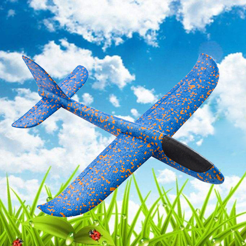 36CM Hand Throwing Plane Throwing Glider Toy Airplane Boy Kids Toys Gift Outdoor Toys Foam Airplane ModelEarly Childhood Educati