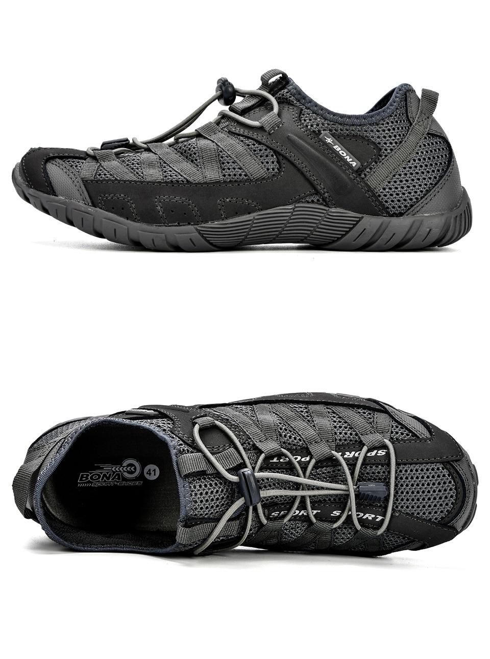 HTB1qaGPKb1YBuNjSszeq6yblFXa0 BONA 2018 Summer Sneakers Breathable Men Casual Shoes Fashion Men Shoes Tenis Masculino Adulto Sapato Masculino Men Leisure Shoe