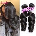 Raw Indian Hair Loose Wave Virgin Hair 2 Bundles 7a Unprocessed Indian Virgin Hair Loose Deep Wave Wholesale Human Hair Bundles