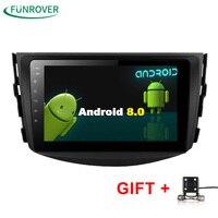 Funrover NEW Android 8 0 Car Dvd Player For Toyota RAV4 Rav 4 2007 2008 2009