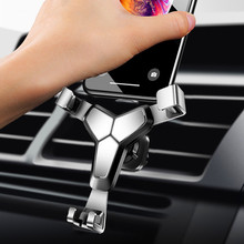 Aluminum Alloy Car Phone Holder 360 Rotation for in Air Vent Mount Stand iPhone 7 8 XS Universal