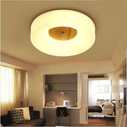 New Design Modern Led Ceiling Lights With Square/Round Wood Frame Lamparas De Techo Style Lamps For Bedroom 110V-240V автоинструменты new design autocom cdp 2014 2 3in1 led ds150