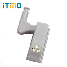 iTimo Cabin Lamp Practical 3 LEDs Intelligent Cabinet Wardrobe Battery Lights Door Autoswitch LED Cabinet Light Night Light