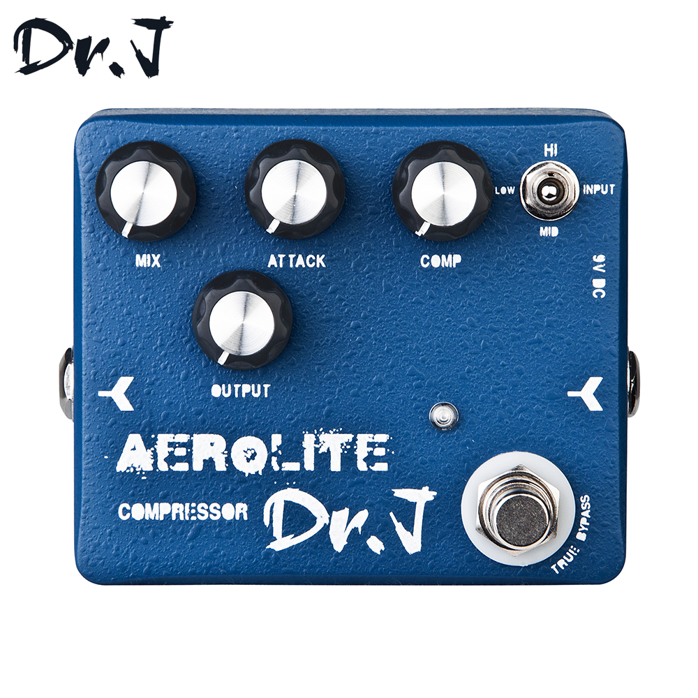 цены Dr.J D55 AEROLITE Compressor Hand Made Electric Guitar Effect Pedal True Bypass Guitar Accessory
