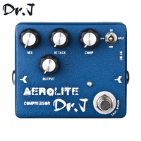 Dr J D55 AEROLITE Compressor Hand Made Electric Guitar Effect Pedal True Bypass Guitar Accessory