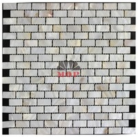 Home Improvement Freshwater Shell Mosaic Tile Mother Of Pearl Pure White Natural Floor Mosaics Tiles Background