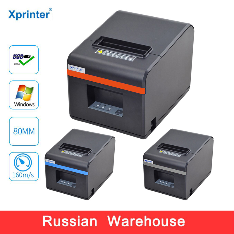 Xprinter 80mm Thermal Receipt Printers Bill POS Printer With Auto Cutter For Kitchen USB/Ethernet Port Shop RestaurantXprinter 80mm Thermal Receipt Printers Bill POS Printer With Auto Cutter For Kitchen USB/Ethernet Port Shop Restaurant