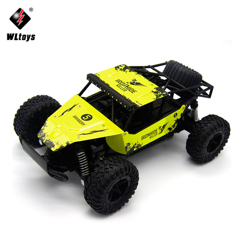 Machine sur Télécommande 1:16 2RM Radio RC Voiture 2.4G Super cross-country Escalade Véhicule RC Voiture Buggy SUV Bigfoot Dérive Jouet De Voiture