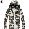Venda quente 2016 nova chegada de moda camuflagem maré jaqueta com capuz masculino fino casaco protetor solar atacado MC1507