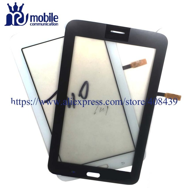 10pcs Original T110 T111 Touch Screen for Samsung Galaxy Tab 3 Lite T111 T110 Digitizer Touch Panel