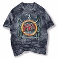 2017 Nuevo 3D Camisetas Impresas Hombres Slayer Rock And Roll Corto manga de la camiseta de los hombres de la marca clothing calidad de algodón fresco camisa masculina 3d