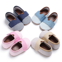 New Fashion Soft Sole Crib Shoes Infant Toddler Baby Boy Girl Sneaker Newborn to 0-18M