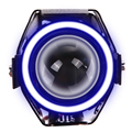Motocicletas modificadas U7 Transformadores holofotes faróis de LED (Azul) ME3L
