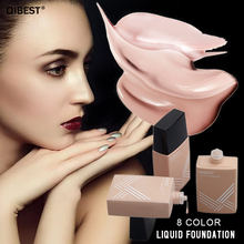 Qibest Liquid Foundation Light Moisturizing Matte Oil Control Clear  Concealer Lasting Invisible Pores Beauty Nude Makeup