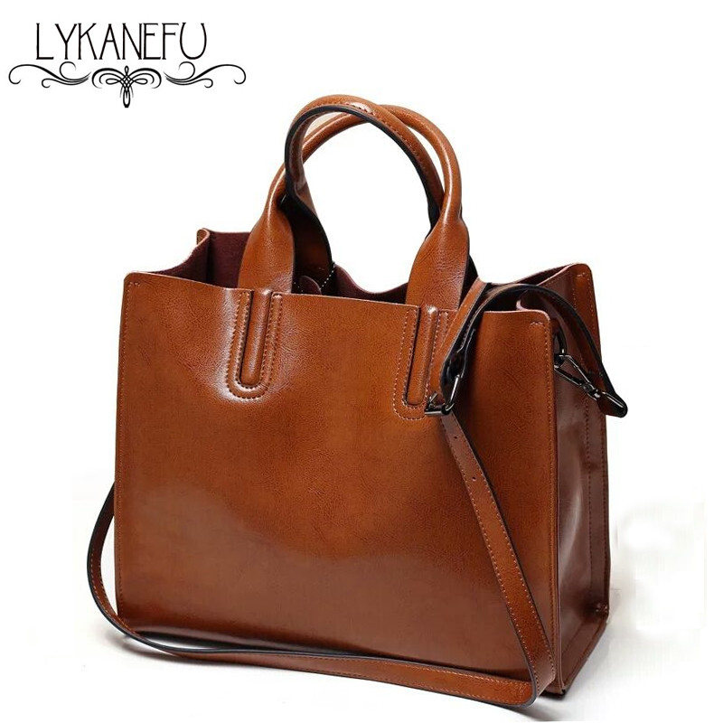 LYKANEFU 2017 Vintage Tote Handbag Women Leather Handbags PU Satchel Purse Bag Women Shoulder Bags Bolsa Feminina 4 Colors hot spanish vintage style pu leather tote women bag new purse and handbag retro female shoulder bags clutch bolsa feminina canta