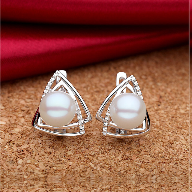 Silver Pearl Fine Jewelry Set