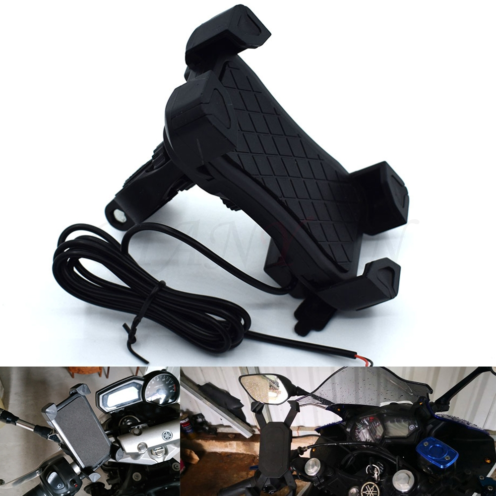 Audacious Universal Motorcycle Phone Holder Mobile Stand For Moto Support Usb Charger Holder For Honda Cbr1100xx Blackbird St1300/a Strengthening Waist And Sinews Motorcycle Accessories & Parts Back To Search Resultsautomobiles & Motorcycles