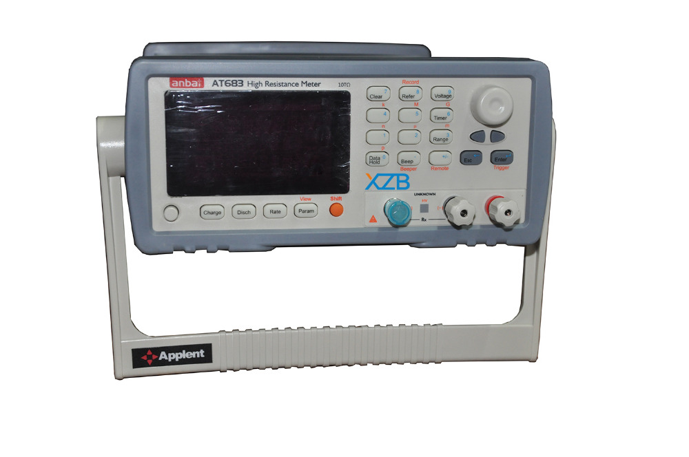 Digital Insulation Resistance Tester(High Resistance Meter)Range 100k~10T ohm Output Voltage 1V~1000VDC Max Reading 9999