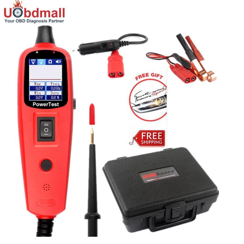 ФОТО Powerscan Ancel OS2600 Auto Circuit Tester 0V-380V Car Multimeter Repair Tool Car Electrical Multimeter same as YD208 PT150
