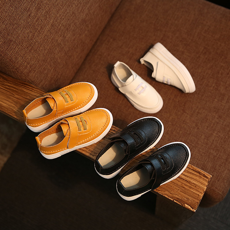 Fashion Children casual shoes Childrens leather girls Boys Spring autumn Leisure Student sports