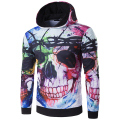 New Arrival Men Hoodies Autumn Wear Men 3D Skull Sweatshirt Long Sleeve With Hood High Quality hoodies me assassins creed